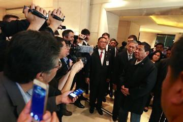 菲律宾总统杜特尔特开始对中国进行国事访问