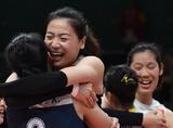 中国女排逆袭巴西勇闯奥运四强