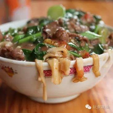 来自潮汕的牛肉炒粿条