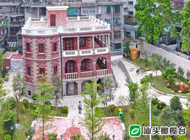 澄海籍商人出资兴建的这栋楼 蒋介石、周恩来先后在这里生活和办公