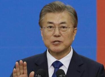 民调显示韩国总统文在寅支持率降至四个月来新低