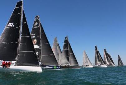 澳大利亚帆船锦标赛揭幕 中国诺莱仕帆船队出战