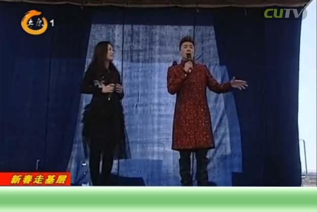太原广播电视台赴定点帮扶村文艺送祝福