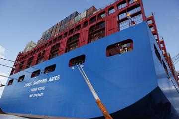 中国首制具完全自主知识产权超大货轮成功首航