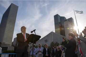 古特雷斯为联合国记协成立70周年庆生