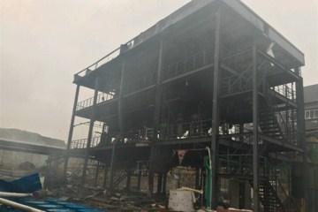 四川江安县一工业园区发生爆燃事故,已致19人死亡