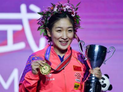 刘诗雯成就世界杯五冠王 冲刺东京再添重要砝码