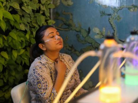 花钱买空气!印度空气质量告急 民众可花50元吸氧15分钟