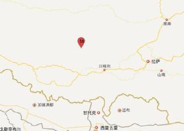 西藏日喀则谢通门县发生4.3级地震 震源深度8千米