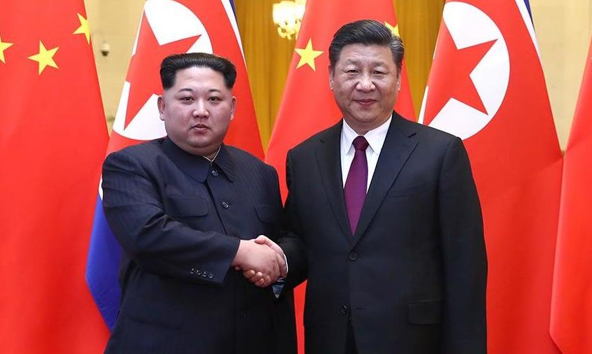 习近平同金正恩举行会谈(附视频)