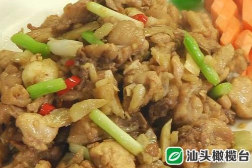 《美食潮》教你做菜:生炒沙姜雞