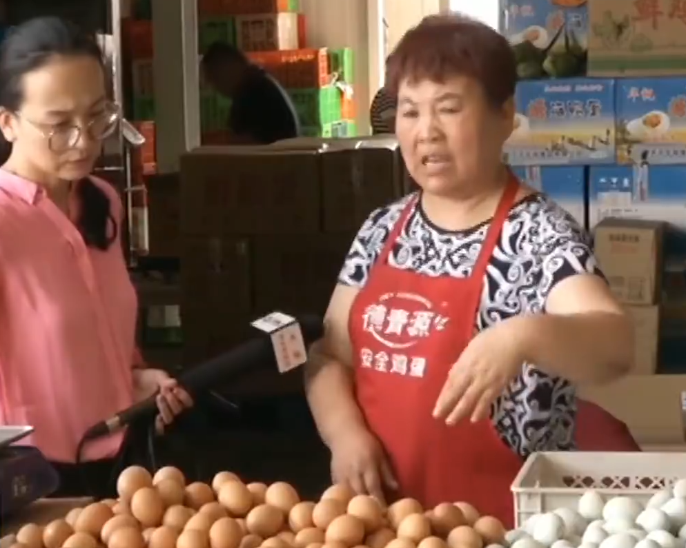 鸡蛋价格持续上涨 均价较3月最低时期上涨44%