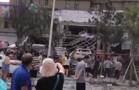 河北秦皇岛一商铺发生爆炸 事故原因正在调查中