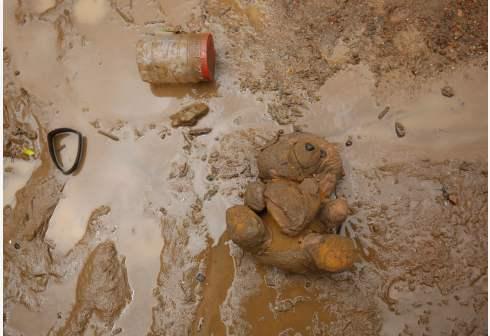 四川汶川多地发生泥石流灾情 已致2人失联3人被困