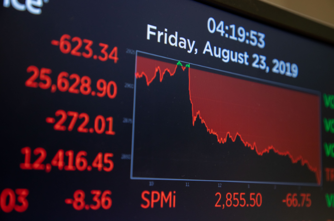 纽约股市三大股指23日大幅下跌