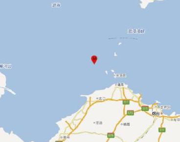 山東煙臺市長島縣海域發生3.1級地震 震源深度8千米