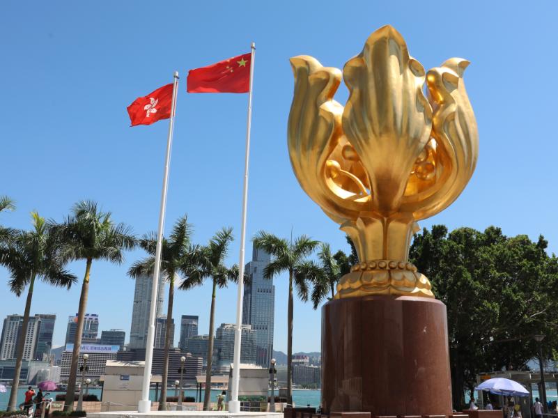 """港澳办就美通过""""2019年香港人权与民主法案""""发声明"""