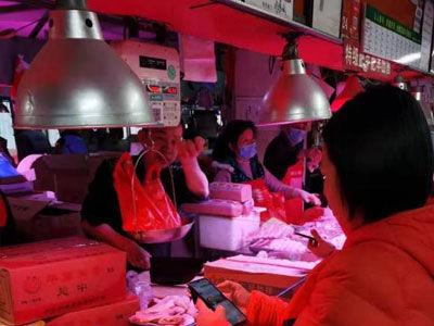 广州肉菜粮油需求增长迅速 多部门联手确保供应不断档