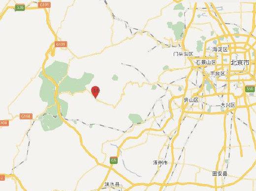 北京房山區發生3.2級地震 震源深度13千米
