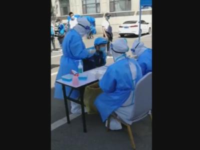 吉林市:免费为2000多名外卖骑手进行新冠病毒核酸检测