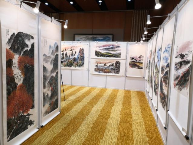 百幅台湾艺术家书画作品贺中国共产党百年华诞